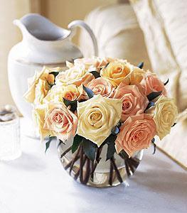 Perfect Pastel Roses Bouquet 24 Rose