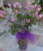 Micronesia Roses Micronesia,Other State:24 Lavender roses bouquet