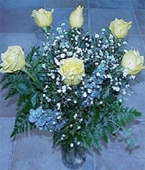Greece Roses Greece,:6 Yellow Roses Roses