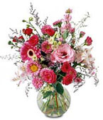 Indonesia Spring Bouquets Indonesia,:Splendid Day Bouquet
