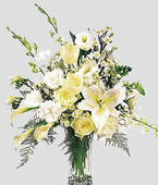 Greece White Flowers Greece,:Casa Blanca and Lilies