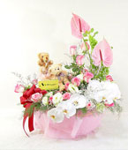 Taiwan Flower Taiwan Florist  Taiwan  Flowers shop Taiwan flower delivery online  :Gentle Kiss