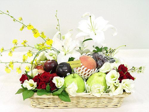 Livraison Fleurs Taiwan fleuriste Taiwan,fleurs de Taiwan Livraison fleurs Taiwan:LocalStreets:Fruitti Basket