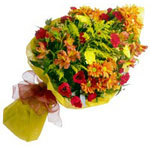 UAE Flower UAE Florist  UAE  Flowers shop UAE flower delivery online  :Mixed Seasonal Bouquet