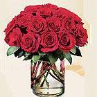 UAE Arrangements UAE,:Red Roses in a Vase